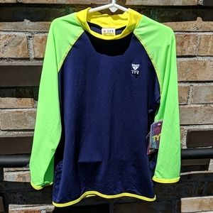 TYR boys or girls rashguard
